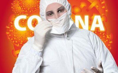 How do attackers exploit our emotions through societal crises like the coronavirus outbreak