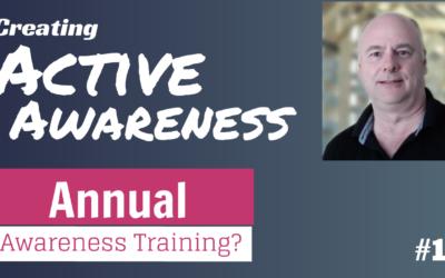 Top 3 reasons why employees need security awareness training more than once a year