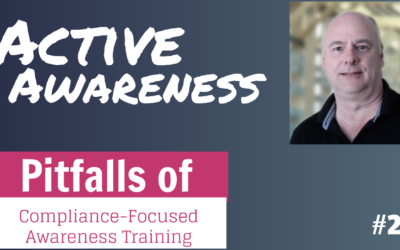 The pitfalls of compliance-based security awareness training