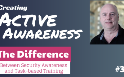 Why security awareness training is different from task-based training